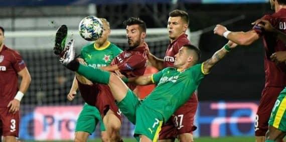 Славия Прага-ЧФРКлужпрогноз матча Лиги чемпионов 28 августа