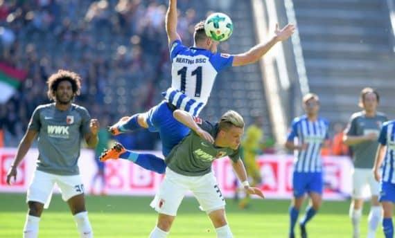 Аугсбург - Герта прогноз на матч немецкой Бундеслиги 24 ноября