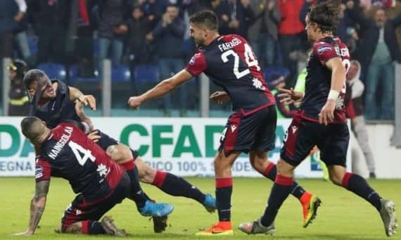 Кальяри — Сампдория прогноз на матч Кубка Италии 5 декабря