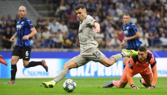 Шахтер Донецк - Аталанта прогноз на матч Лиги Чемпионов УЕФА 11 октября