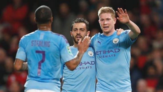 Манчестер Сити - Манчестер Юнайтед прогноз на матч Кубка Карабао по футболу 29 января