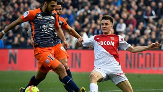Монако - Монпелье прогноз на футбольный матч Лиги 1 Франции 14 февраля