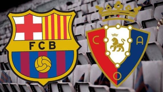 Ставки и прогноз столкновения Барселона - Осасуна