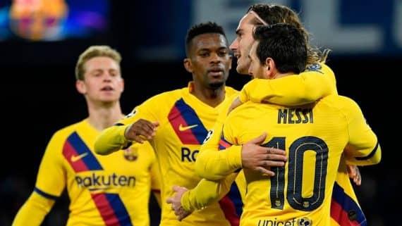 Ставки и предварительный прогноз на поединок Барселона - Наполи