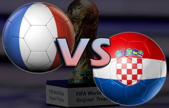 Ставки и предварительный прогноз на поединок Франция - Хорватия