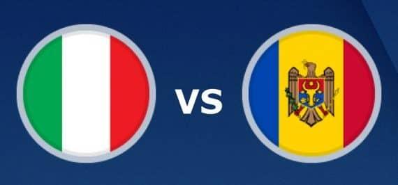 Ставки и предварительный прогноз на поединок Италия — Молдова