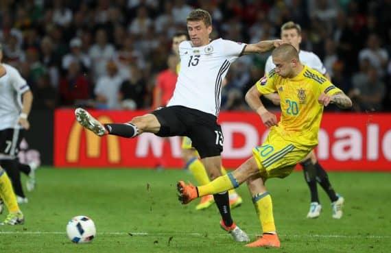 Ставки и предварительный прогноз на поединок Украина - Германия